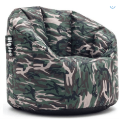 Big Joe Milano Bean Bag Chair High Seat Dining Chairs Elderly Chairs, Only $29.98