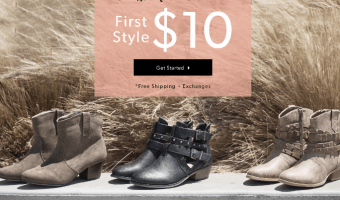 Snag a Pair of Women's Boots on Sale — ONLY $10!