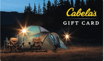 $50 Cabela's Gift Card For Only $40!
