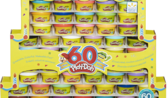 Play-Doh 60th Anniversary Celebration 60 Pack, Only $14.94