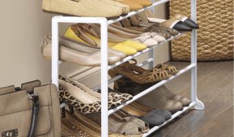 Amazon.com: Whitmore 20-Pair Shoe Rack Just $9.68
