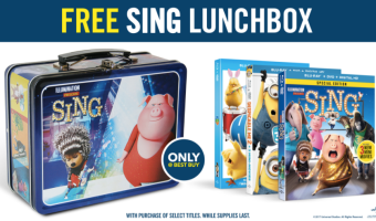 BestBuy.com: FREE Sing Lunchbox with Purchase of Several Movies!