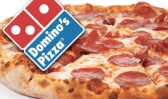 $50 Domino's Pizza Gift Card on Sale, Only $40!
