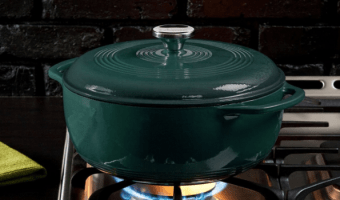Camping Soon? 6-Qt. Cast Iron Dutch Oven, at Best Price!