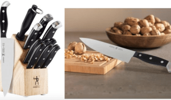 J.A. Henckels Statement 12-Piece Knife Set Only $69.99 & More!