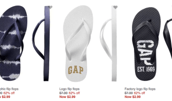 GapFactory.com: FREE Shipping on Everything | Flip Flops ONLY $2.99 and More!