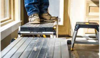 Gorilla Ladder Aluminum Work Platform Only $29.97 (Reg. $49.98)
