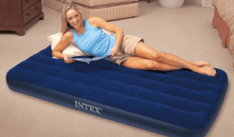 Intex Twin Inflatable Airbed Mattress Just $7.97!