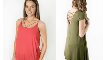 Cents of Style: 2 Tees & Tanks Ship for $20 (Just $10 Each)
