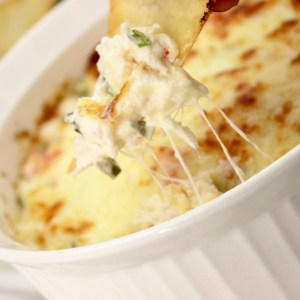 Baked Crab Rangoon Dip Appetizer Recipe