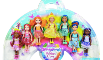 Barbie Dreamtopia Rainbow Cove 7-Doll Gift Set Only $19.87