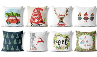 Christmas Pillow Covers Ship for as Low as $6.48