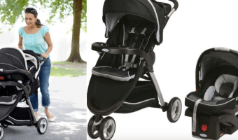 Save Over $75 on the Graco FastAction Travel System!