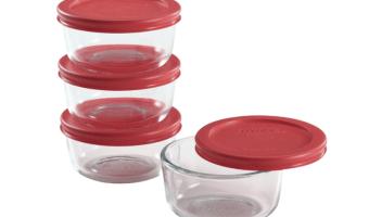 Pyrex 8-Piece Glass Bowl Set Just $9.99