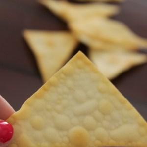 Wonton Wrapper Chips Wonton Recipe