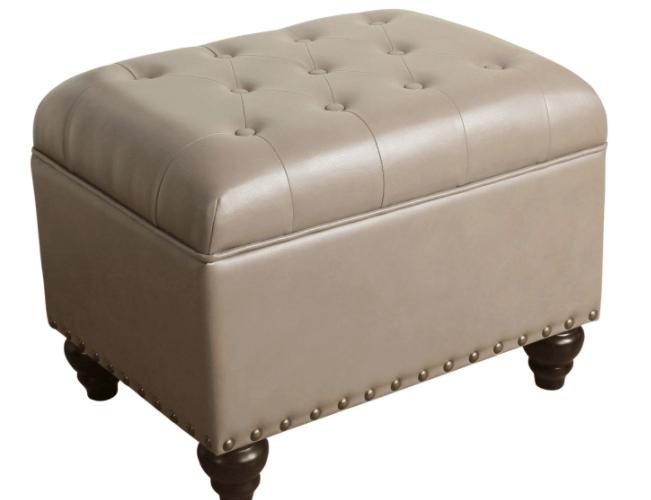 Threshold Danbury Tufted Storage Ottoman Only $44.98 Shipped!