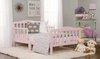 Dream On Me Classic Design Toddler Bed Only $33.33