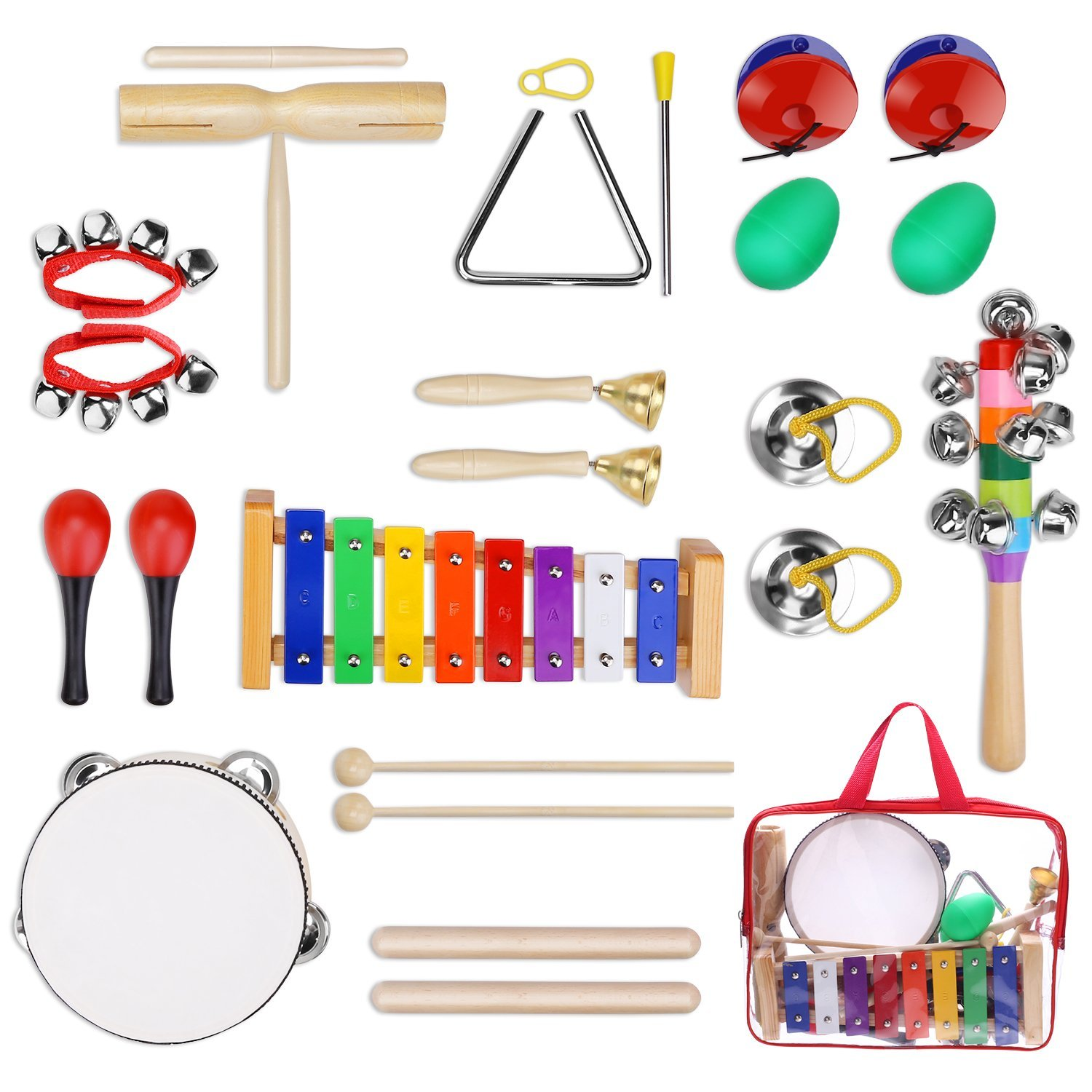 12pc Kids Musical Instrument Set At A Low Price