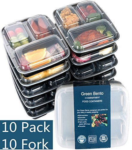 Meal Prep Containers with Sporks