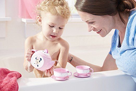 Minnie Mouse Baby Bath Tea Set
