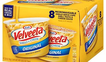 Velveeta Shells & Cheese, Single Serve 8 Count