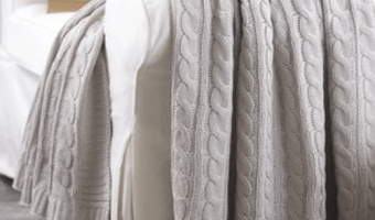Cable Knit Throws as Low as $11.49 Each!