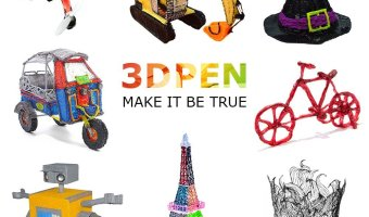3D Doodling Pen With OLED Display At A Great Price