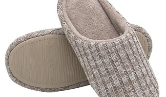 Women's Cashmere Cotton Knitted House Slippers At A Great Price
