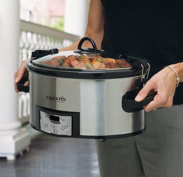 Crock-pot 6-quart Programmable Cook & Carry Slow