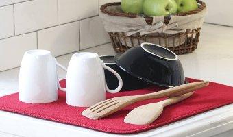 Over Half Off Kitchen Basics Dish Drying Mat