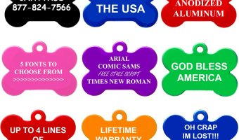 Personalized Pet Tags At The Lowest Price