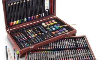 Best Price On 142-Piece Wood Art Set