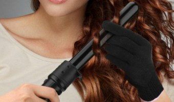 Elehot Curling Wand With LCD Temperature Control At Best Price
