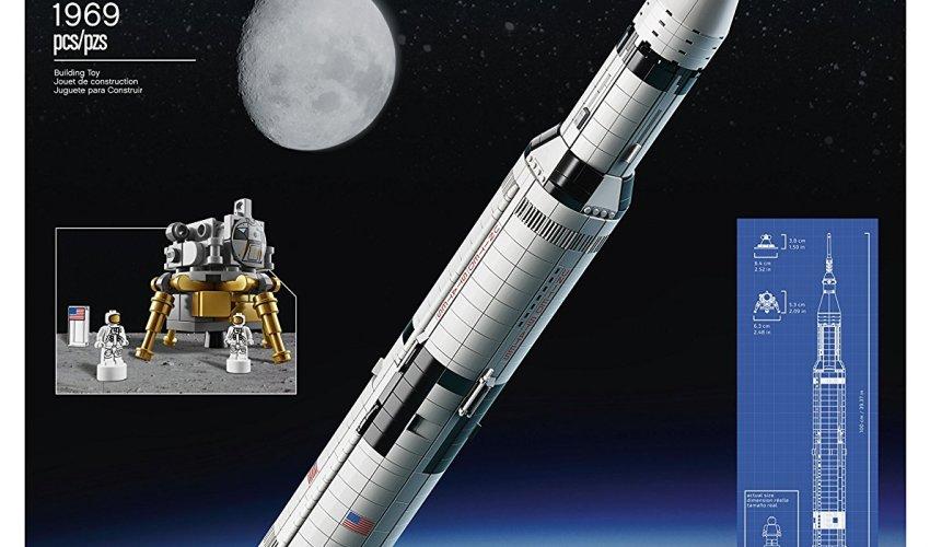 LEGO Ideas Nasa Apollo Saturn V  $119.99