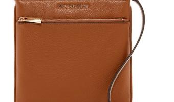 Michael Kors Leather Crossbody Purse $74.97 (Regularly $148)