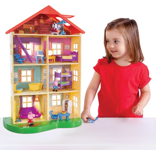 Peppa Pig Lights and Sounds House