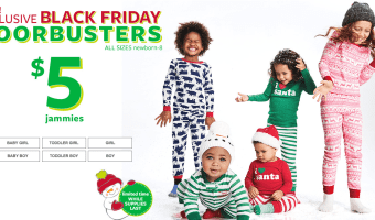 Carter's Pajamas $5 Shipped, Fleece Pullovers Ship for $6 and More!