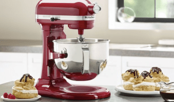 *HOT* Price on the KitchenAid 6 qt. Bowl Lift Mixer — only $249.99 Shipped!