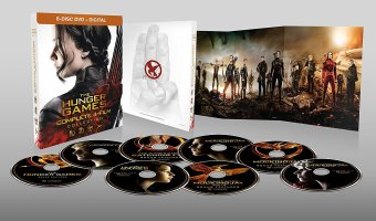 Hunger Games Complete Collection On Blu-ray $19.99 (reg. $49.99)