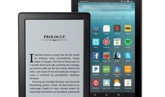 Kindle E-Reader & Fire 7 Bundle $94.99 (reg. $129.98)