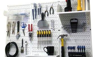 Wall Control Metal Pegboard Tool Organizer $87.99 (reg. $169.99)
