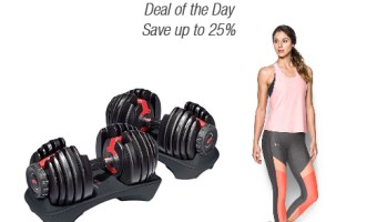 Bowflex and Under Armour Starting At $13.49 (reg. $29.99+)
