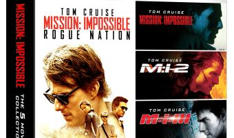 Mission: Impossible: 5 Movie Collection Multi-Format $19.99 (reg. $39.99)
