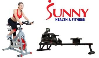 Sunny Health & Fitness Machines $207.64 – $399 (reg. $300-$500)
