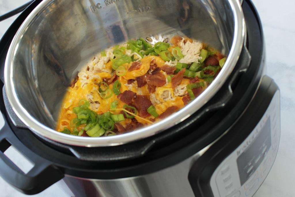 Instant Pot crack chicken recipe #crackchicken #instantpot #dinner