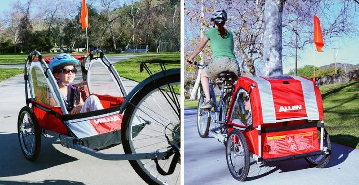 Allen Sports Steel Bicycle Trailer $79 (reg. $149.99)
