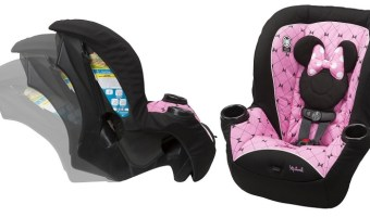 Disney Minnie Apt 40 Convertible Car Seat $51 (reg. $69.99)