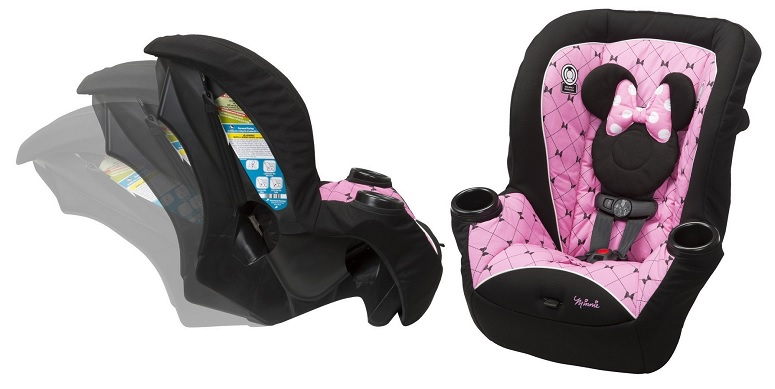 Disney Minnie Apt 40 Convertible Car Seat $51 (reg. $69.99)
