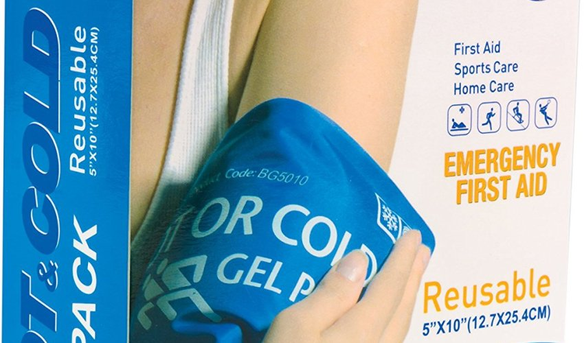 Roscoe Medical Hot & Cold Reusable 5″ x 10″ Gel Pack $3.99
