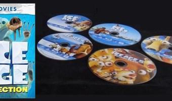 Ice Age 5-Movie Collection On DVD $19.96 (reg. $39.98)